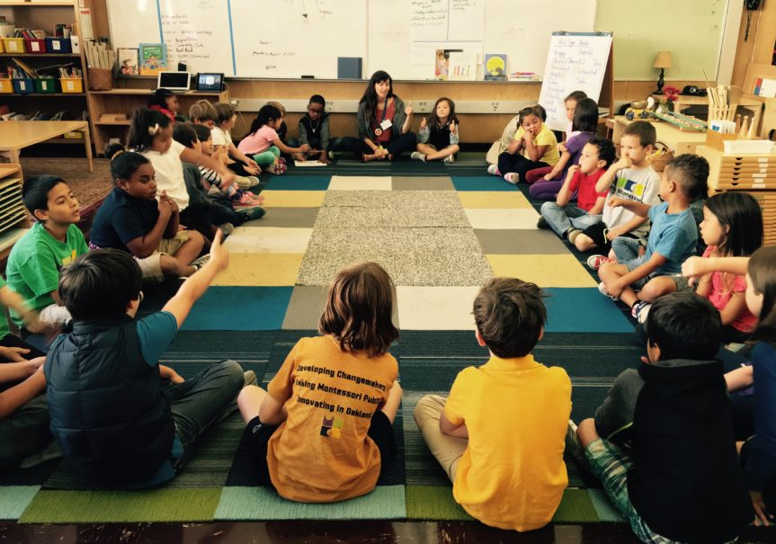 A Pleasantly Unsettling Visit to Oakland's Urban Montessori
