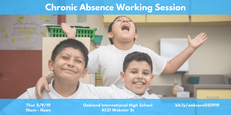 Important Upcoming Event for Educators; A Chronic Absence Working Session With the CORE Data Collaborative